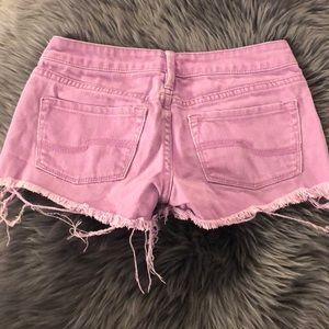 Shorts - Purple Jean Short Shorts 💜